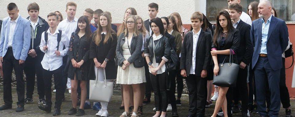 Inauguracja - 16 LO w Szczecinie - Klasa 1A