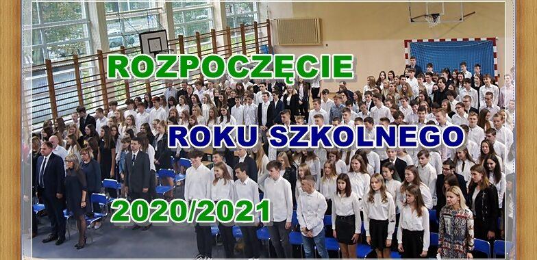 Rozpoczęcie roku szkolnego 2020/2021 - Sala gimnastyczna 16 LO